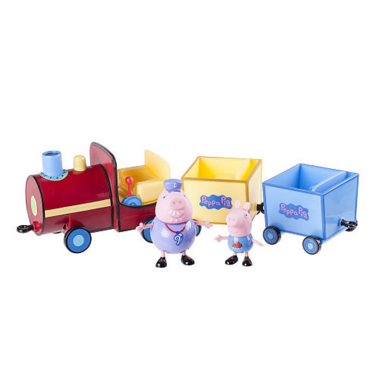 Набор Свинка Пеппа - Джордж, Деда и Поезд,  92601