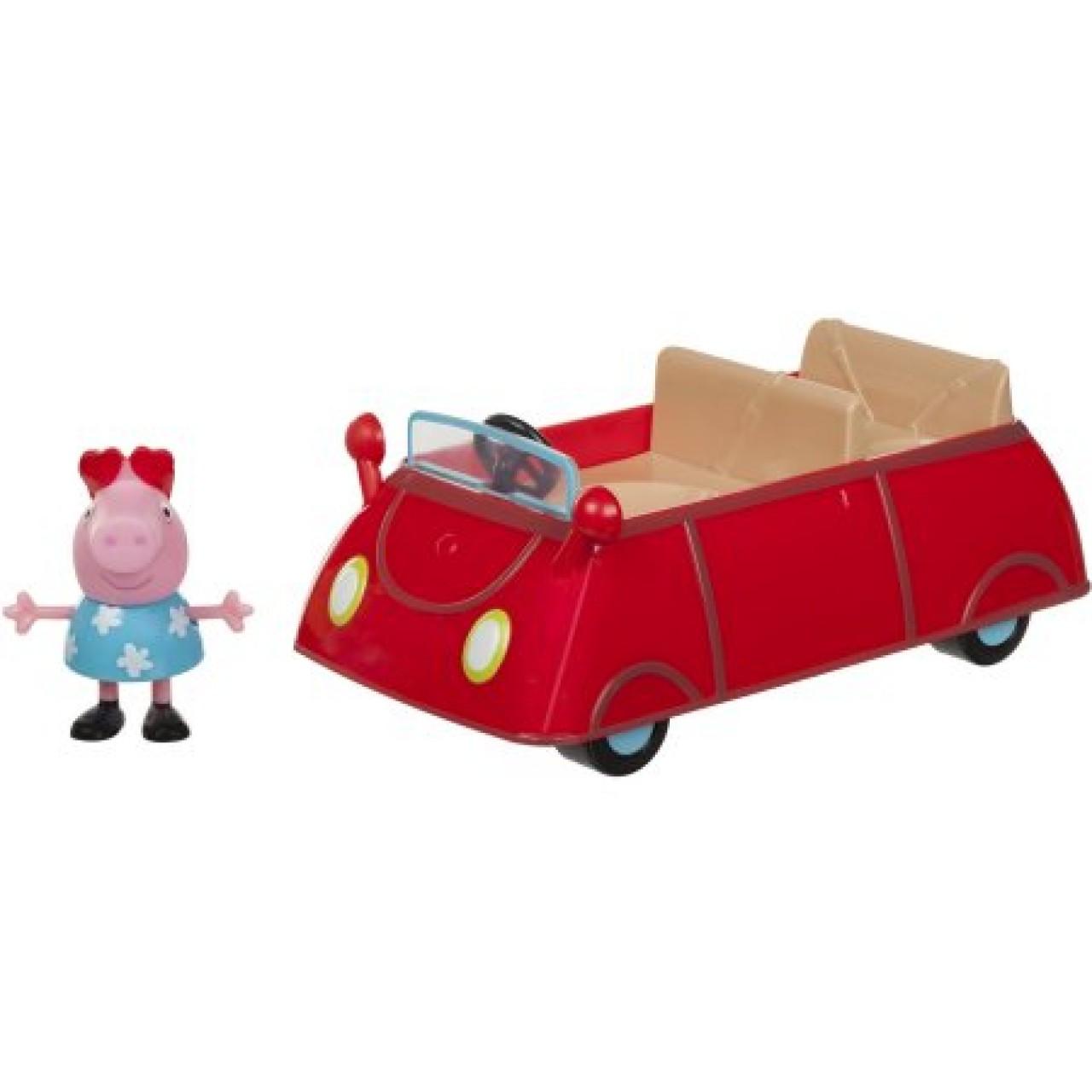 Набор Свинка Пеппа и Красная Машина