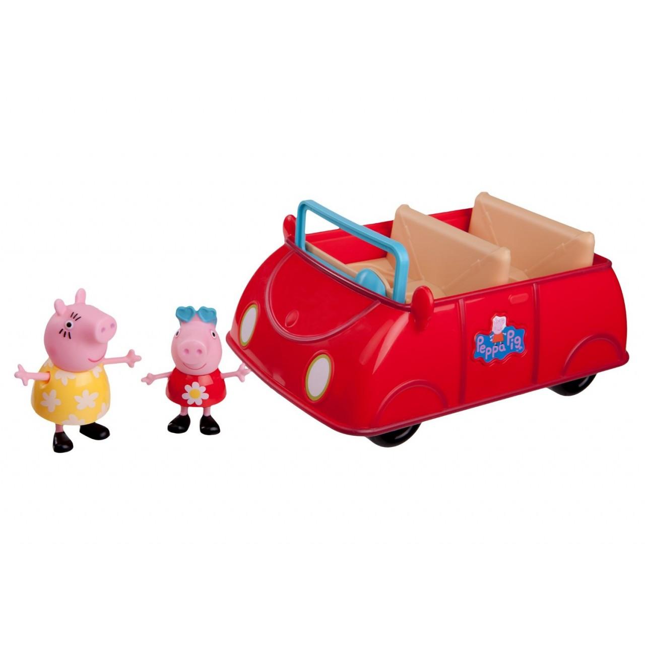 Свинка Peppa - с интерактивной Машиной Пеппы, 92605