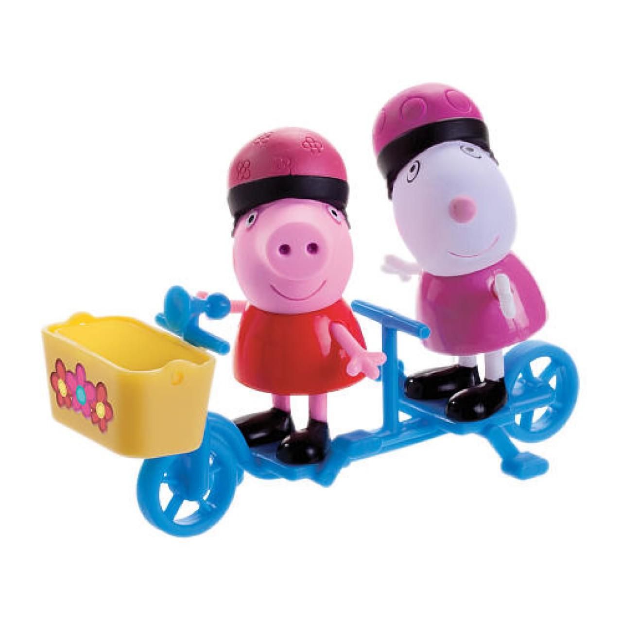 """Набор """"Свинка Peppa и Сьюзи на велосипеде"""" 5523011"""