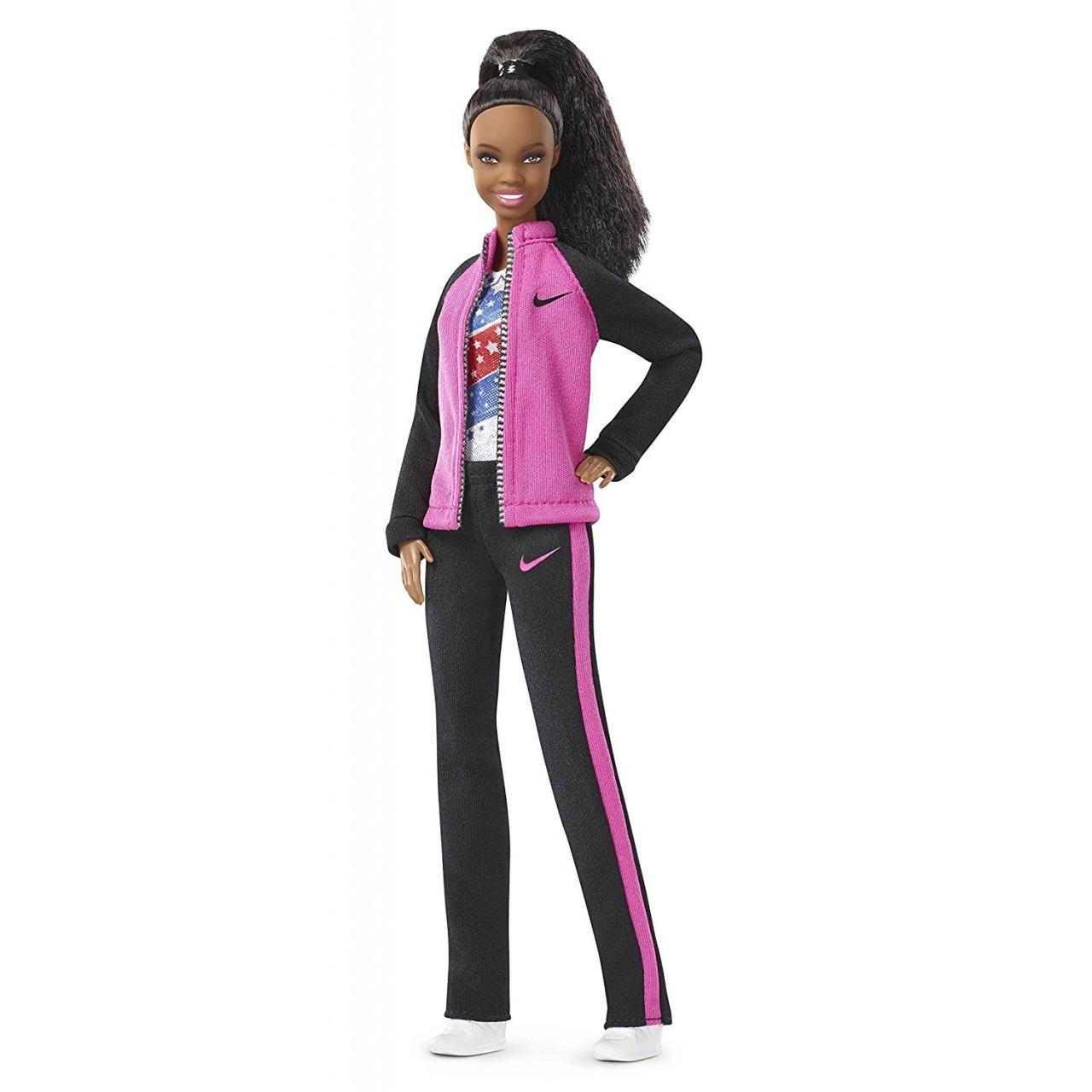 "Коллекционная кукла  Барби  «Габби» Дуглас, FGC34 ""Двигайся как я"""