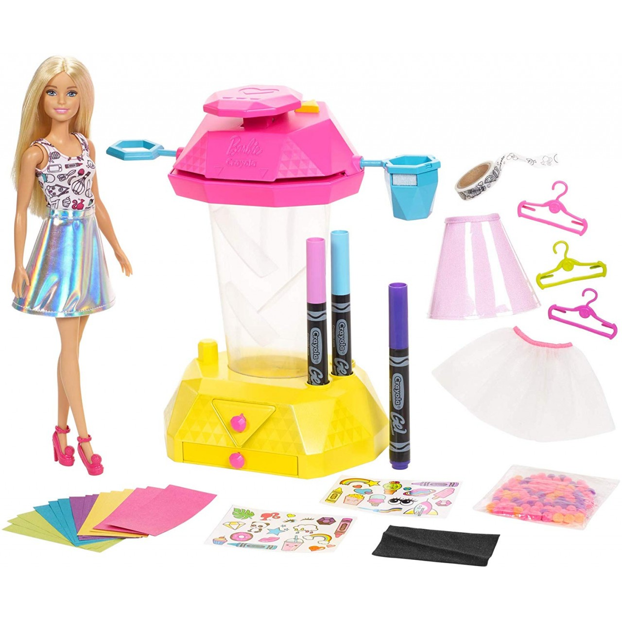 "Кукла Barbie Волшебное конфетти серия ""Crayola"" (FRP02)"