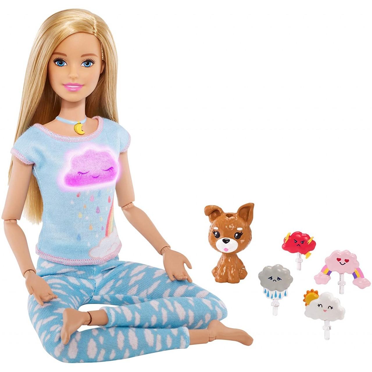 Кукла Барби блондинка Дыши со мной Медитация (GNK01) от Mattel Barbie