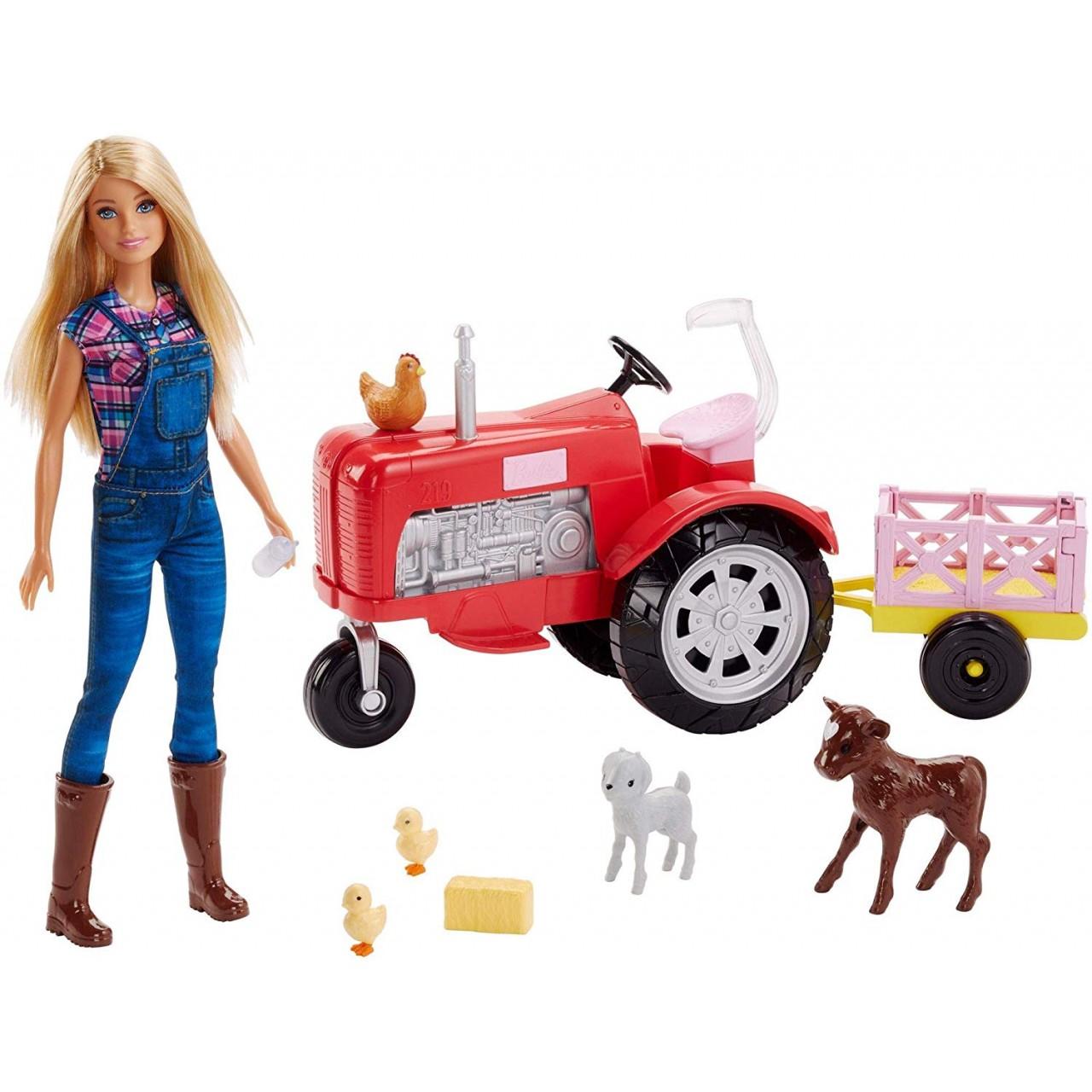 Ігровий набір Барбі Фермер на тракторі (FRM18) Barbie Doll and Tractor