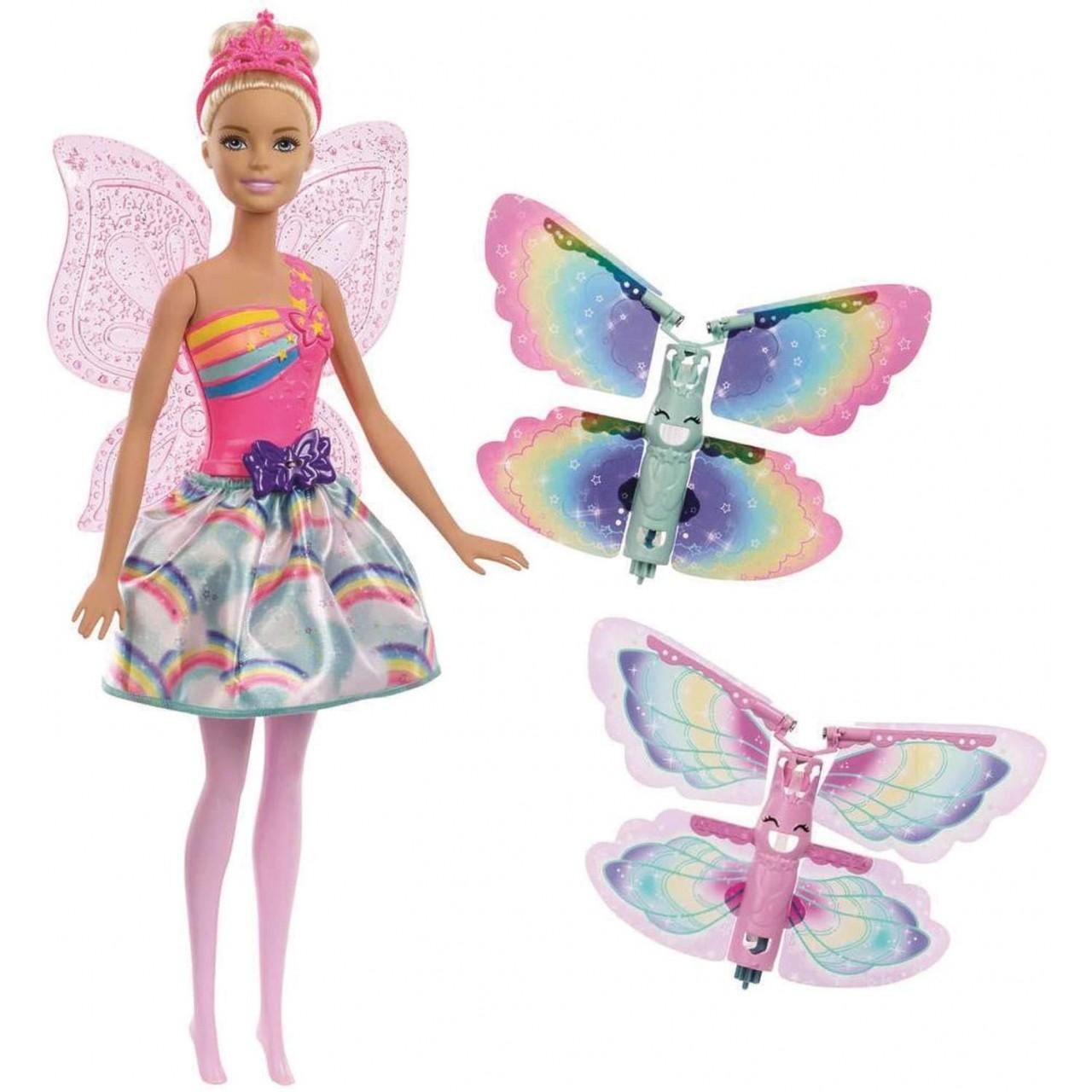 Кукла Barbie Dreamtopia Фея Летающие крылышки (FRB08)