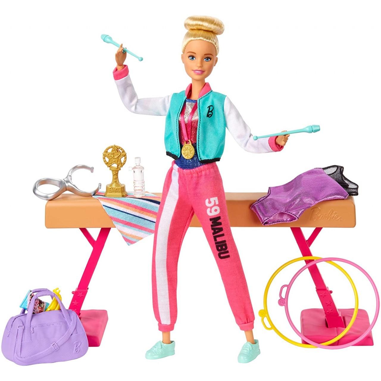 Набір Barbie You can be Гімнастка GJM72 від Mattel