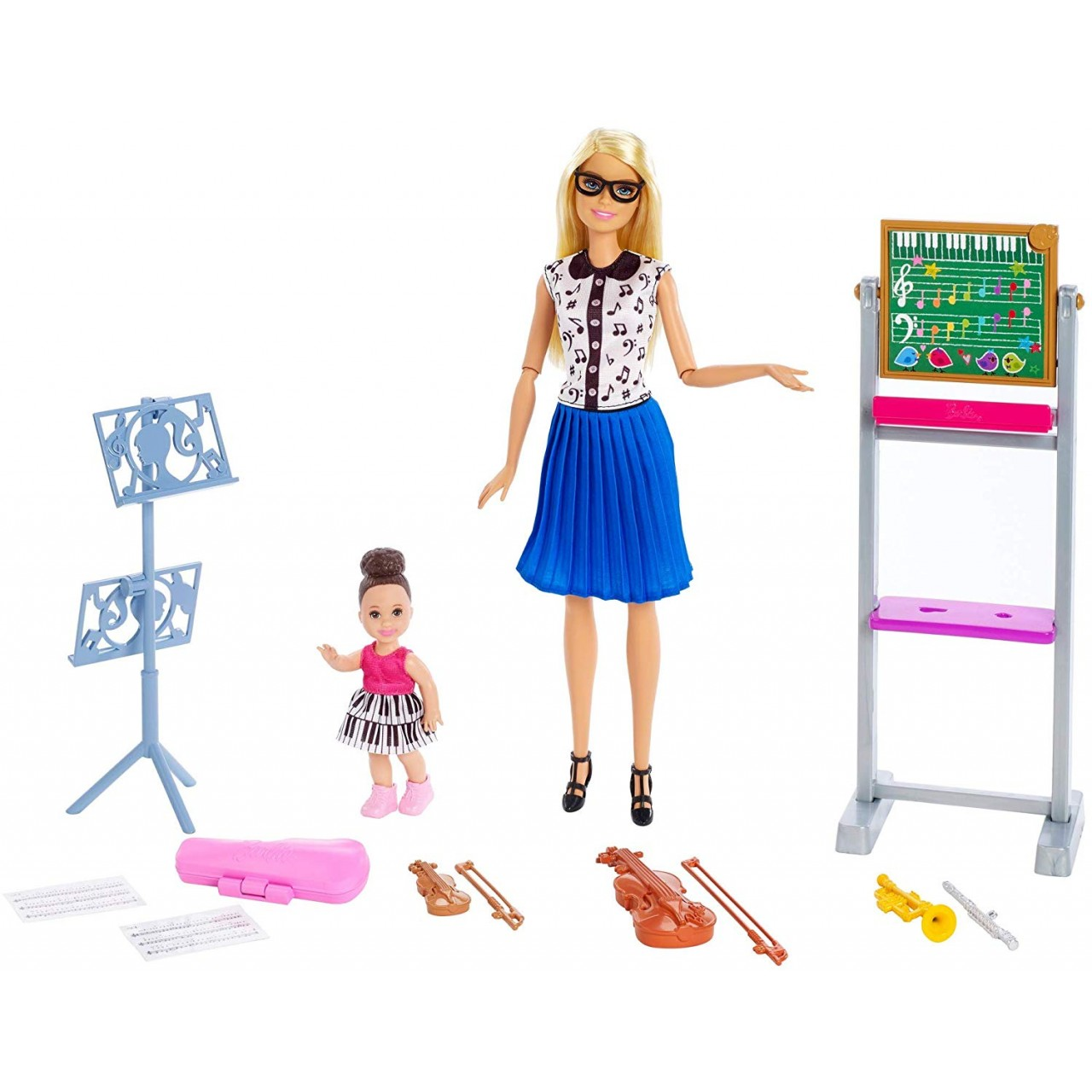 Набор кукла Барби учитель музыки FXP18 (Barbie Music Teacher Doll)