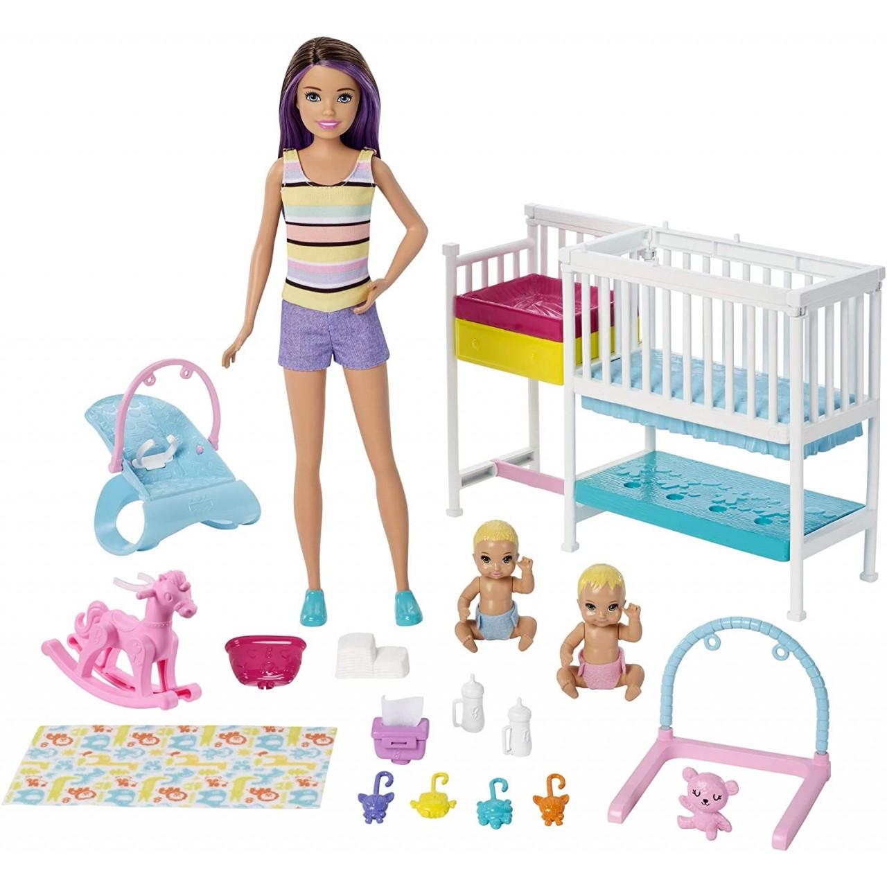 "Набор Барби Скиппер няня ""Уход за новорожденными"" (GFL38) Barbie Skipper Babysitters"
