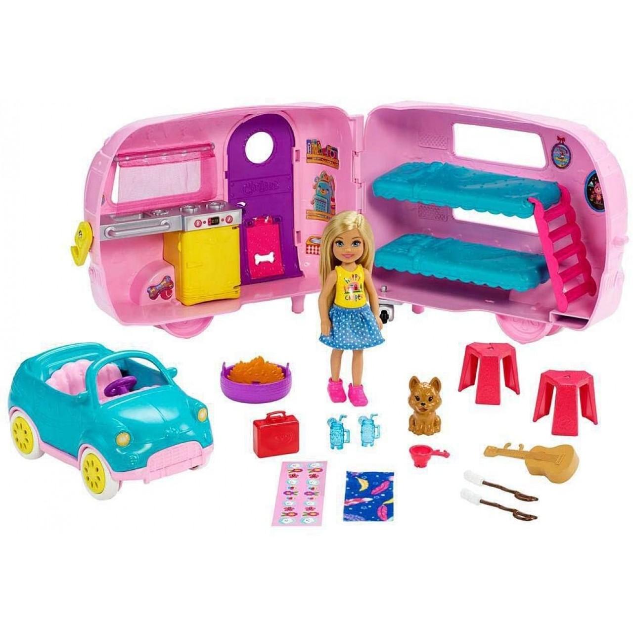 Ігровий набір Барбі Челсі кемпер (FXG90) від Mattel Barbie Chelsea Camper
