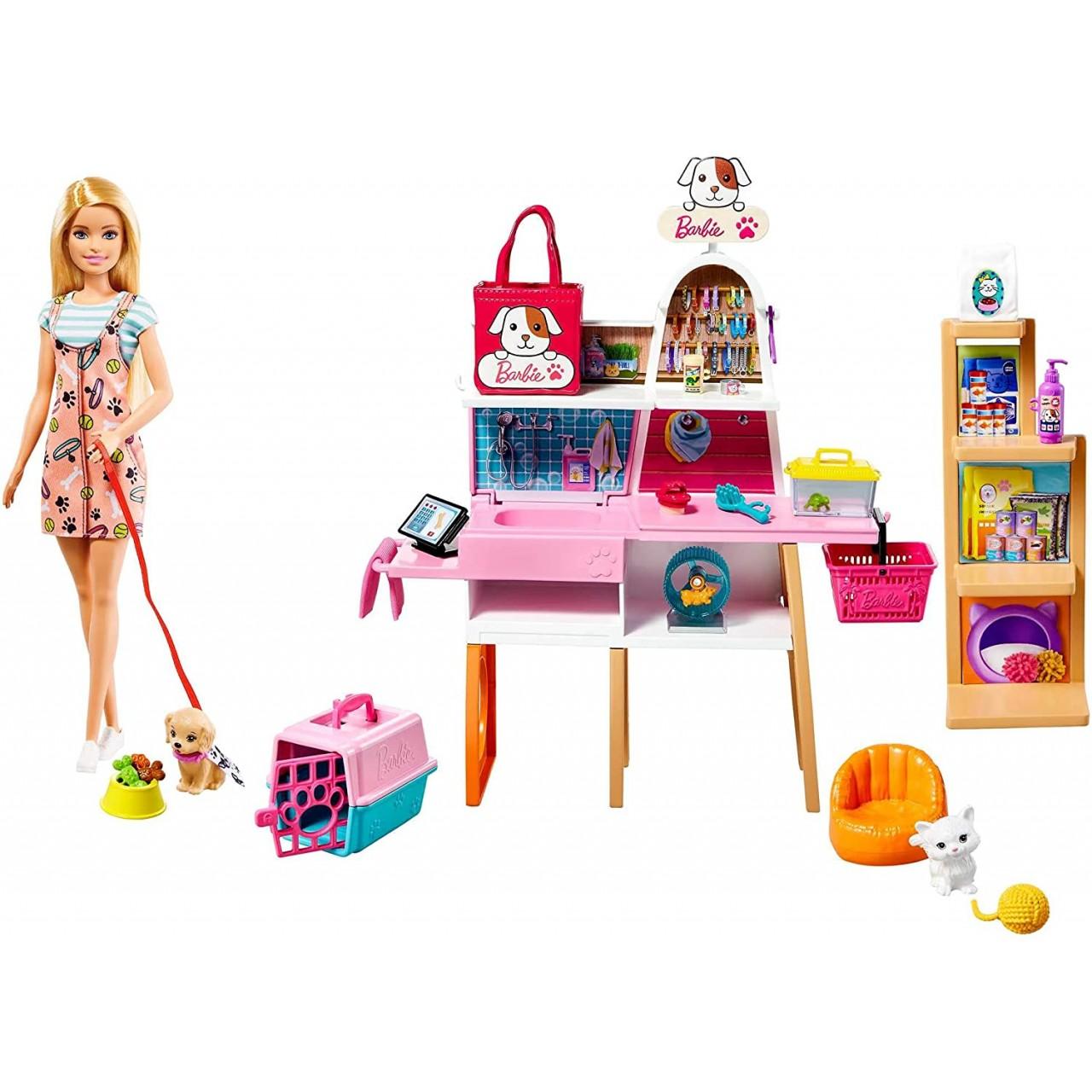 Набір лялька Барбі Все для домашніх улюбленців (GRG90) Barbie Mattel