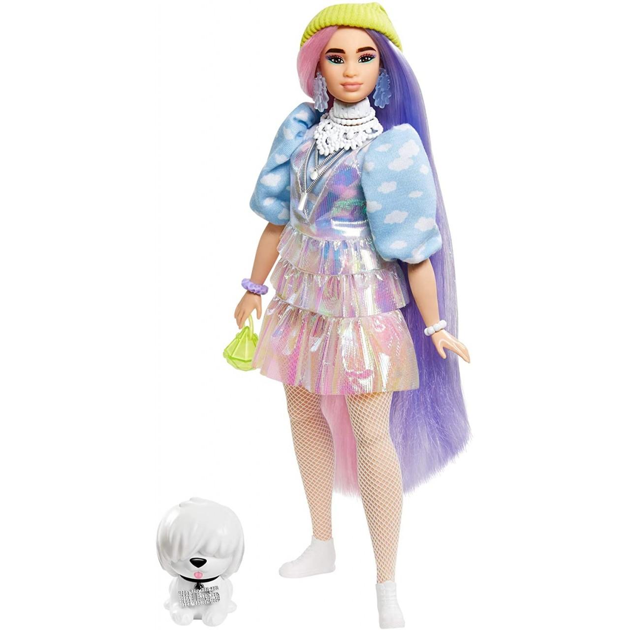 Лялька Barbie Extra у салатовій шапочці (GVR05) від Mattel