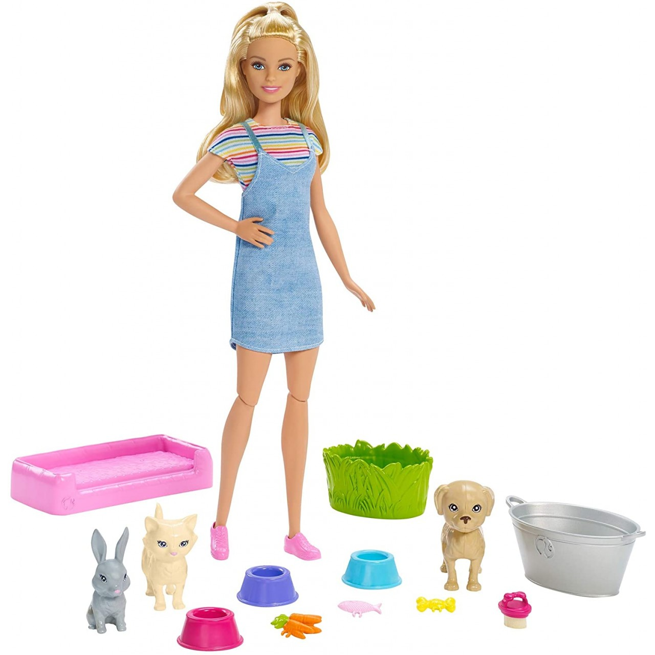 Набір лялька Барбі Купай і грай (FXH11) Barbie Mattel