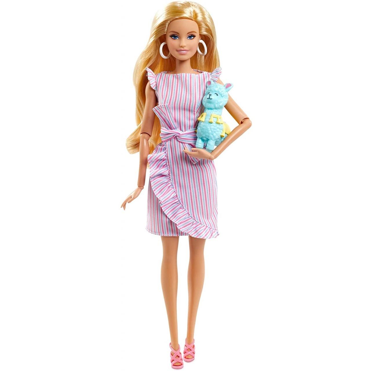 Колекційна лялька Барбі Тіні і лама (GNC35) від Mattel
