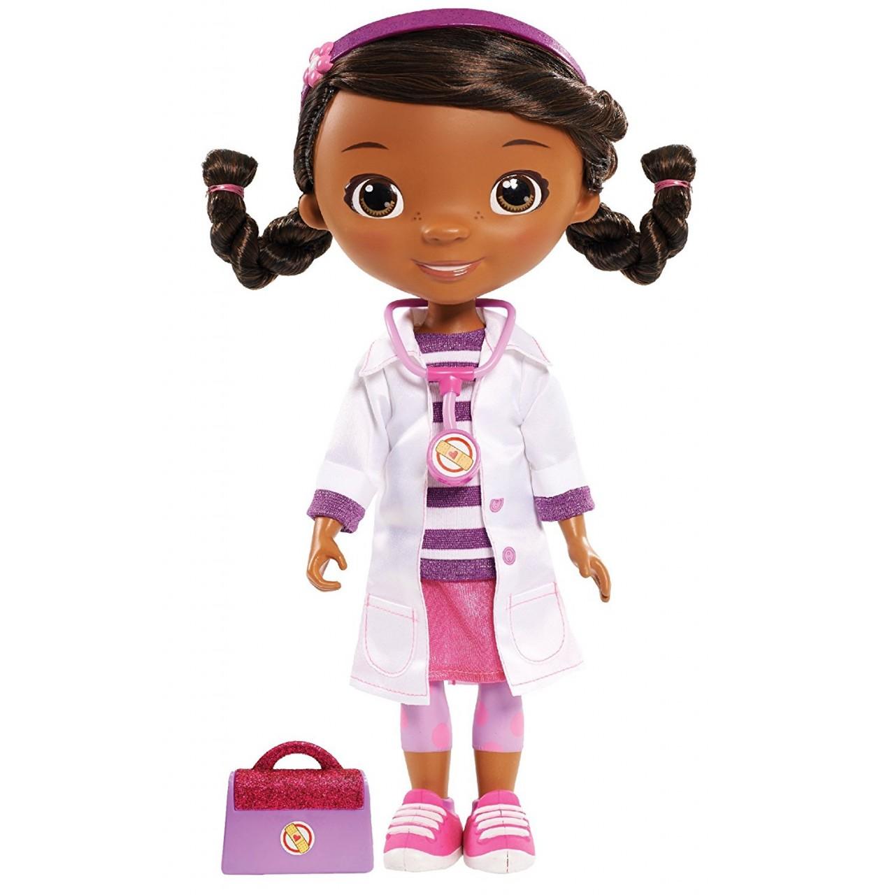 Кукла Доктор Плюшева в розовом