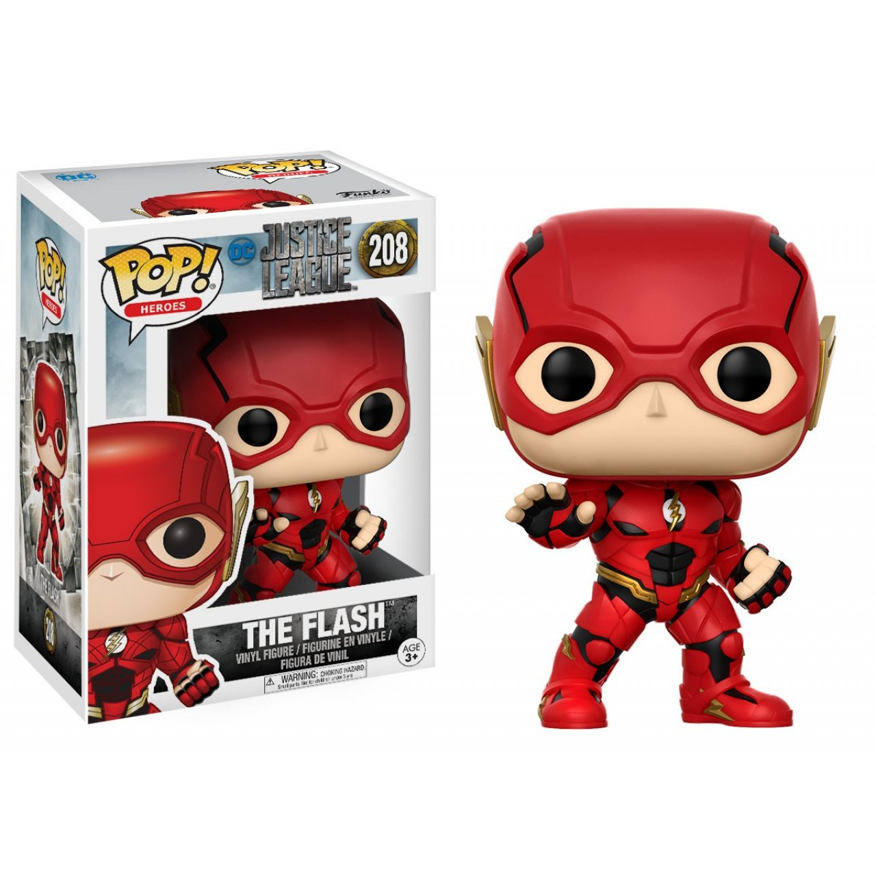 Фигурка Funko Pop DC Justice League: Флеш (13488) #208 Marvel Flash