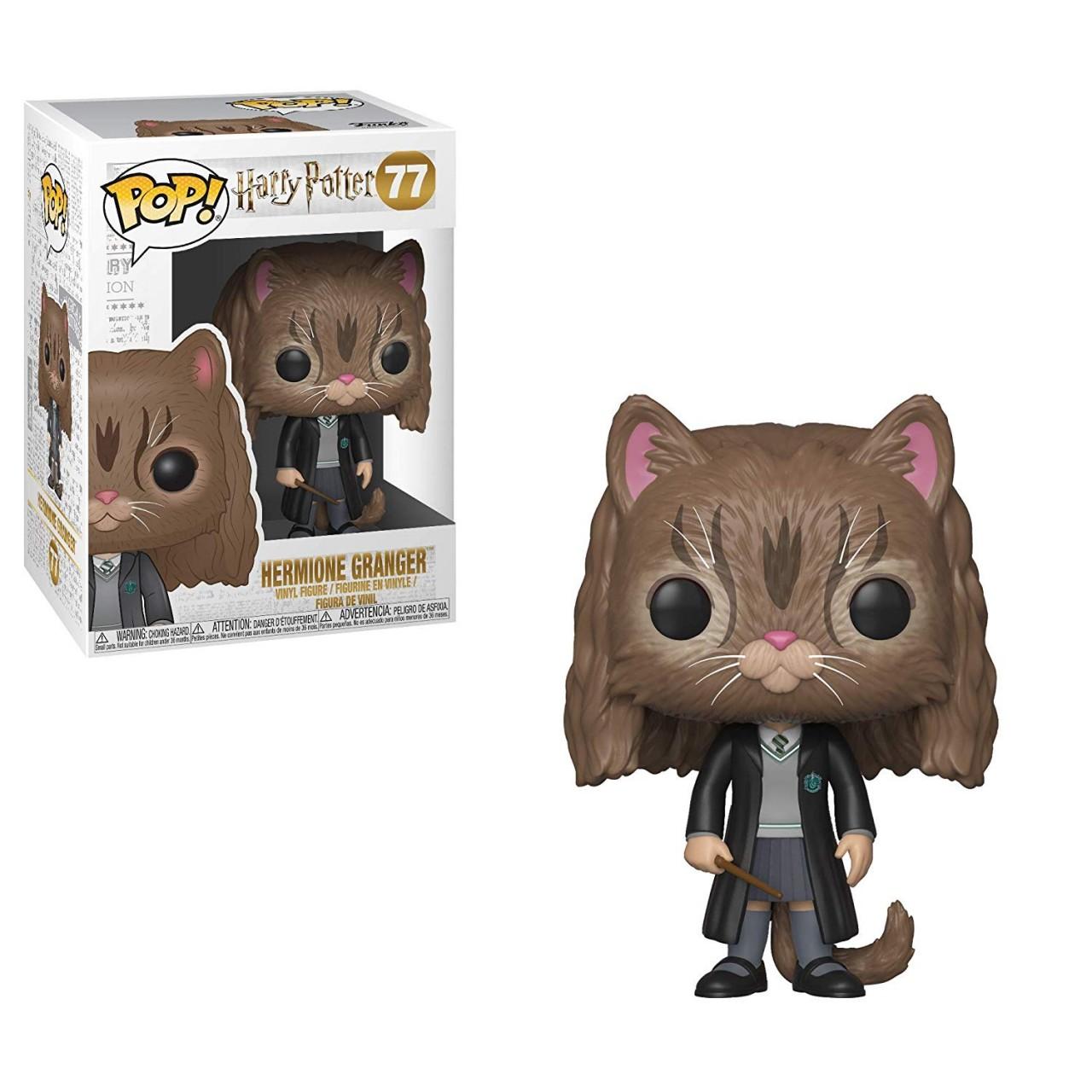 Фигурка Funko Pop Гарри Поттер - Гермиона в обличии Кошки #77 (35509) Harry Potter Hermione as Cat Pop