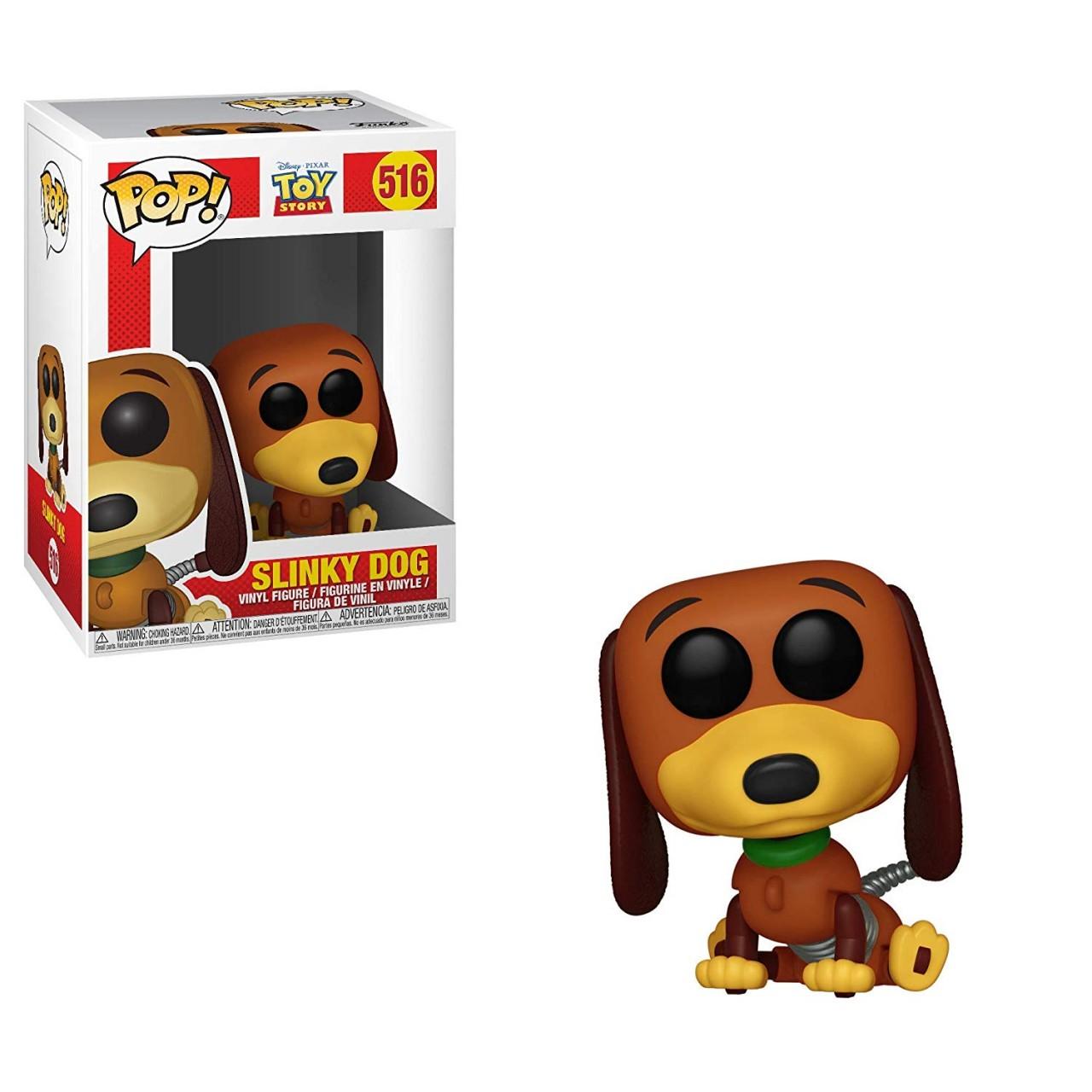"""Фигурка Funko Pop Дисней """"История игрушек"""": собачка-спиралька Слинки (37010) #516 Toy Story Disney Slinky dog"""