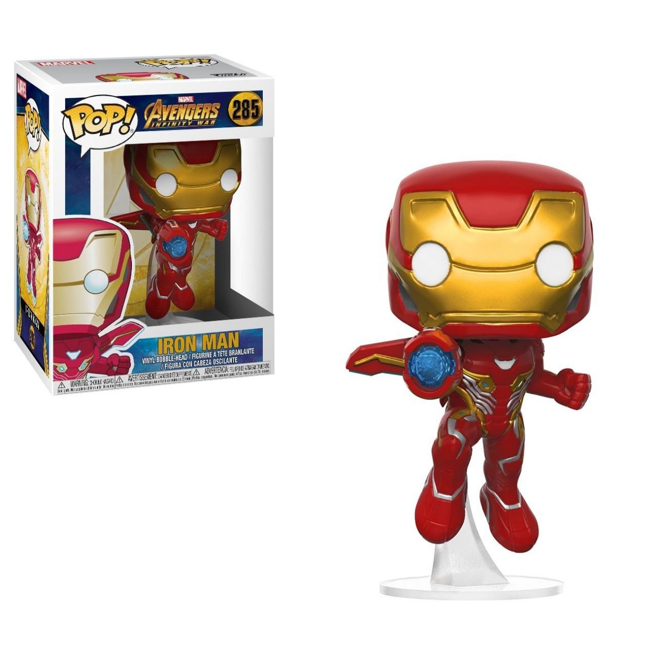 Фигурка Funko Pop Мстители Марвел: Железный Человек на подставке (26463) #285 Marvel Iron Man