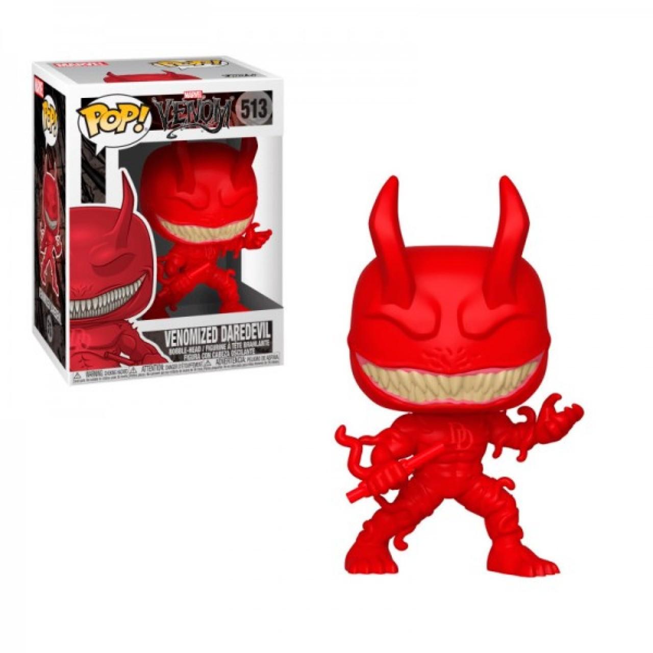 Фигурка Funko Pop Мстители Марвел: Веном-Сорвиголова (40706) #513 Marvel Venom - Daredevil