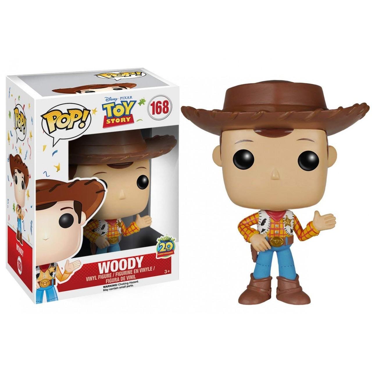 """Фигурка Funko Pop Дисней """"История игрушек"""": Ковбой Вуди (6877) #168 Toy Story Disney Woody"""