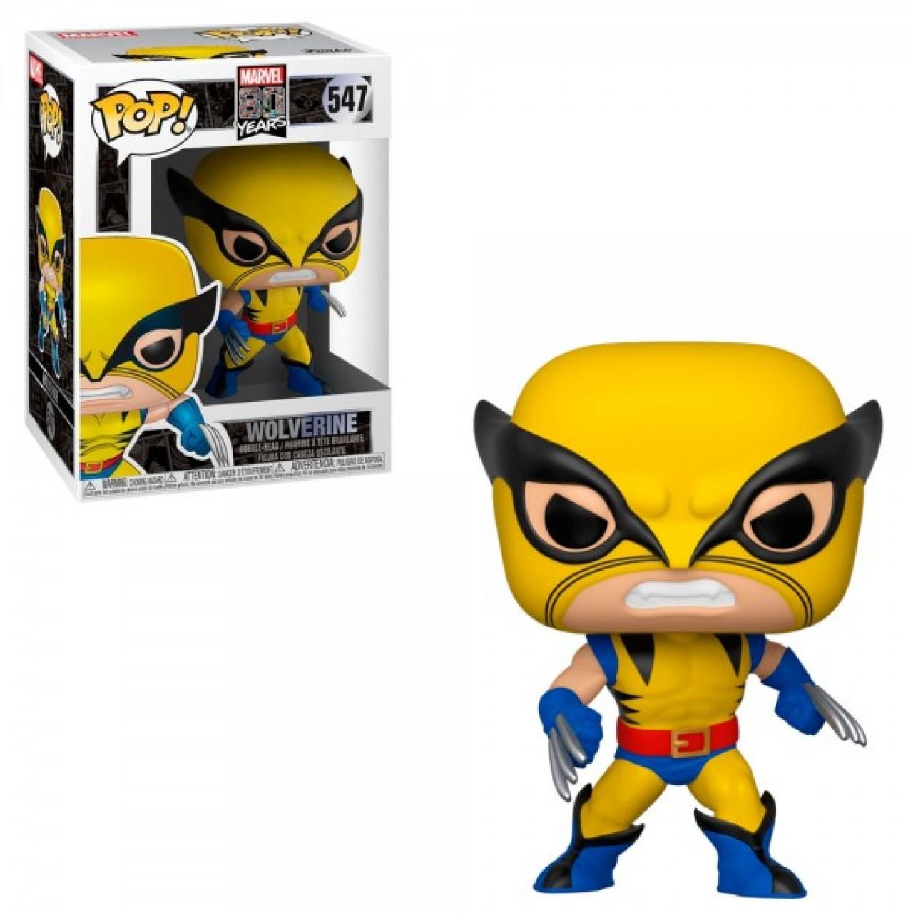 Фигурка Funko Pop Мстители Марвел: Росомаха первое издание (44155) #547 Marvel First Appearance - Wolverine