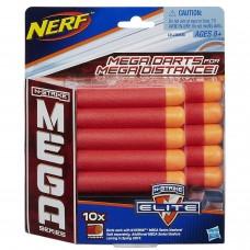 Оригинальные патроны для Бластера Nerf серия Мега 10 шт