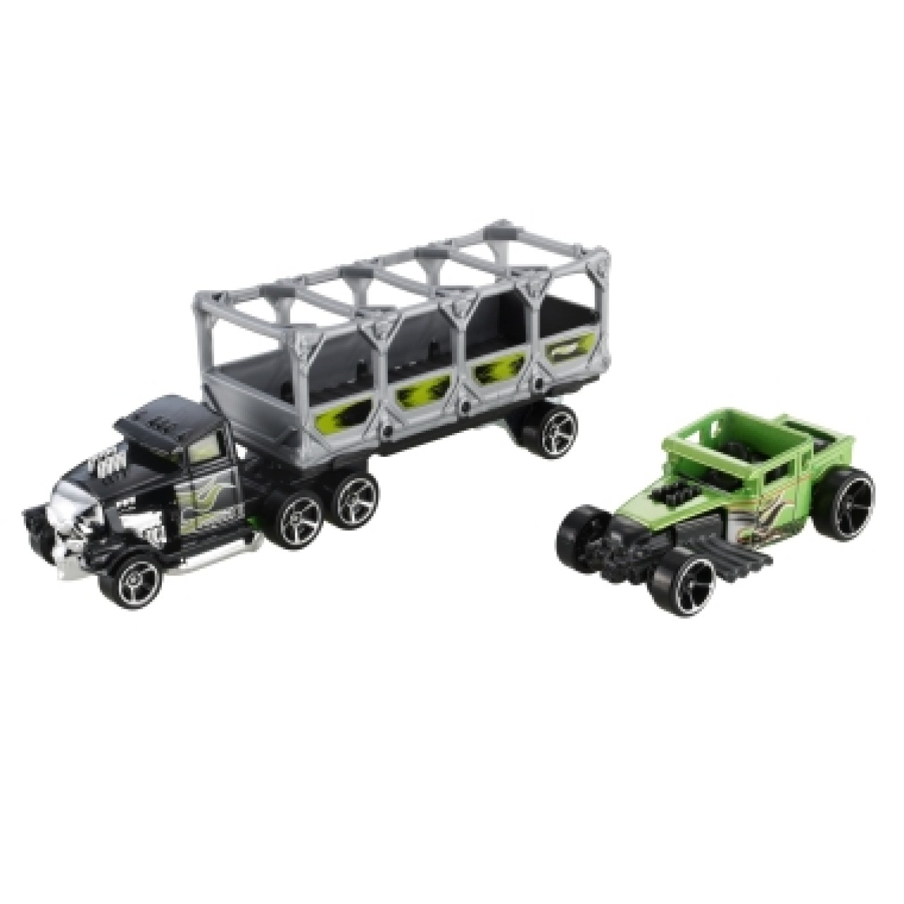 HOT WHEELS машинки Track Trucks BONE BLAZERS 2 Vehicle