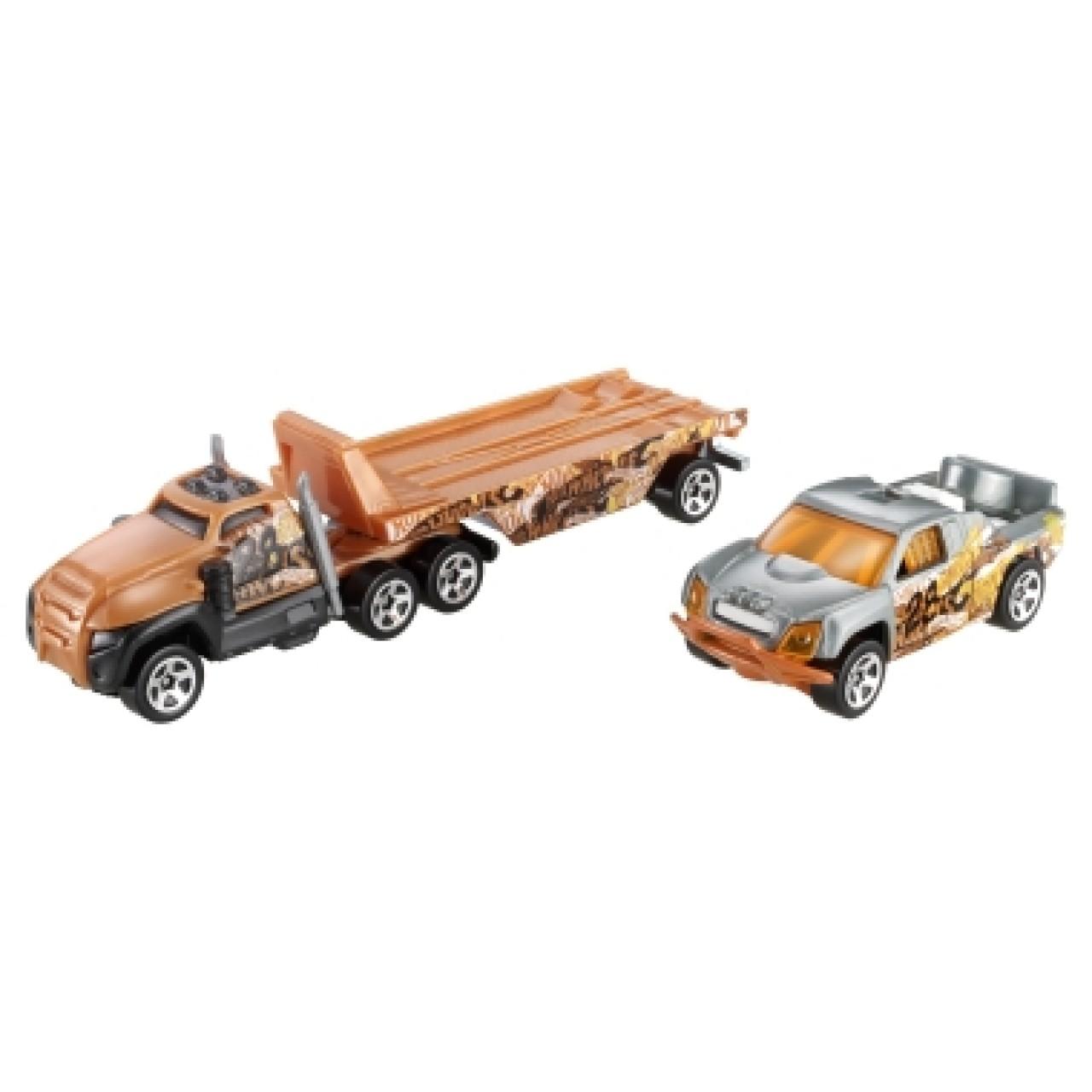 HOT WHEELS машинки Track Trucks Road Rally 1 Vehicle
