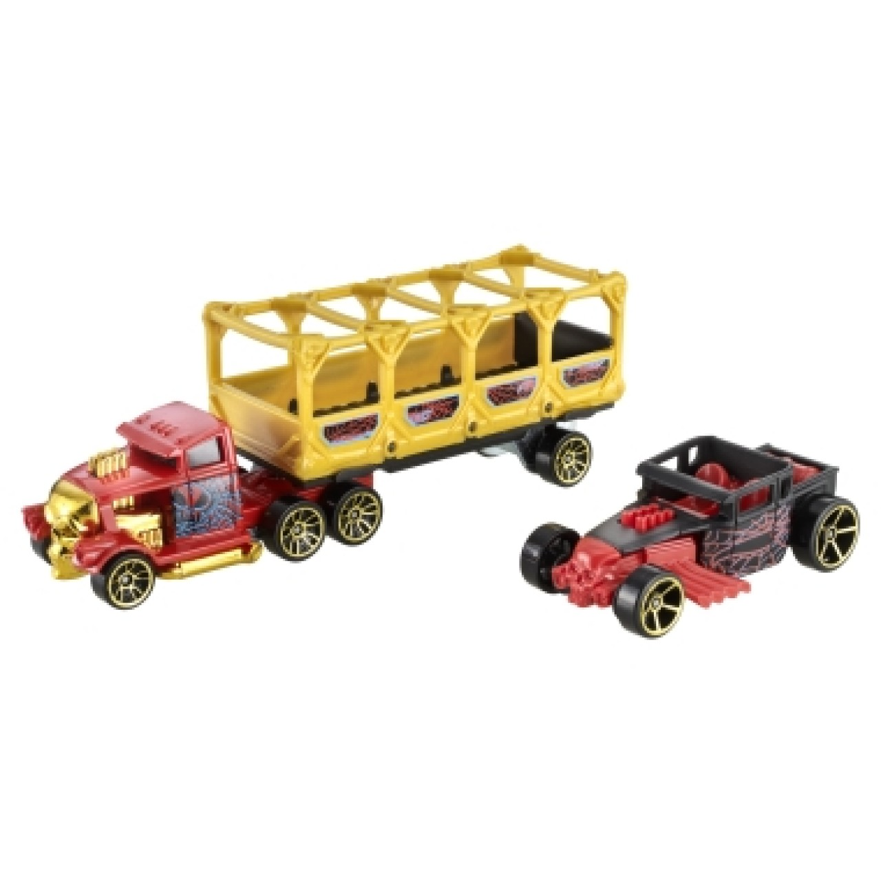 HOT WHEELS машинки Track Trucks BONE BLAZERS 1 Vehicle