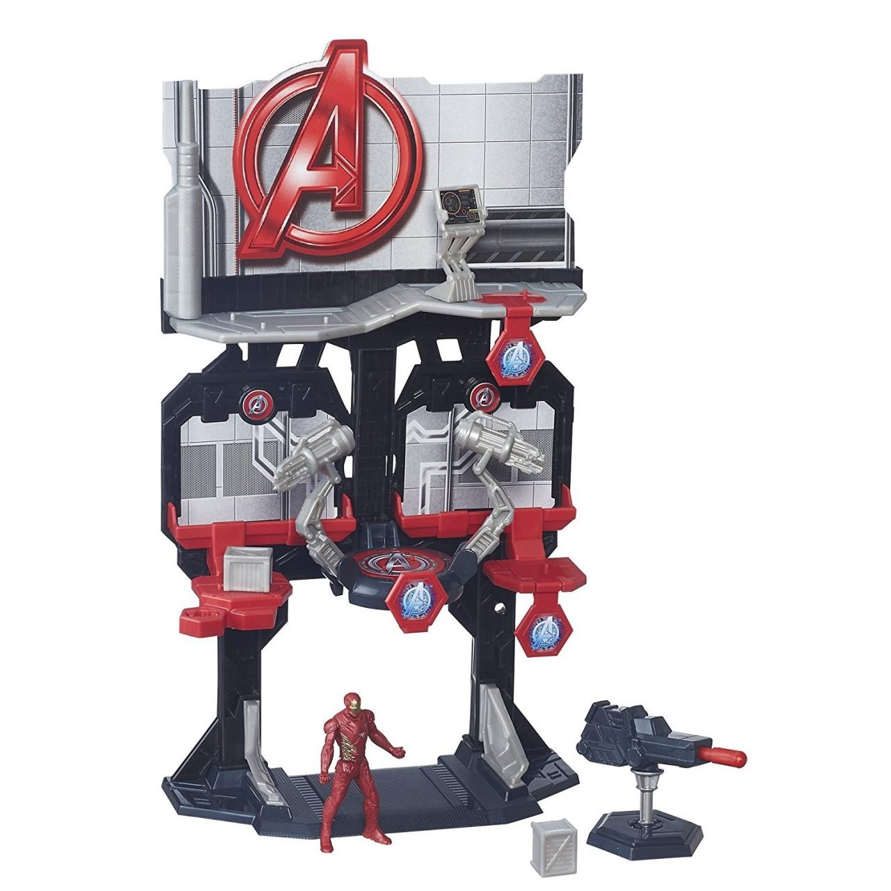 """Игровой набор """"Мстители"""" - Башня с Железным человеком"""