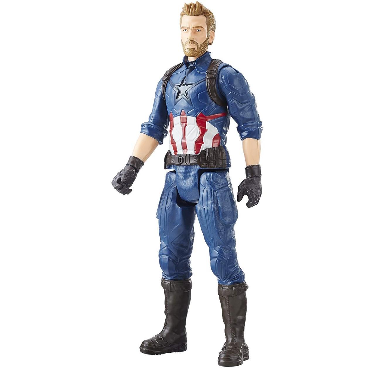 "Фигурка Капитан Америка E1421 ""Мстители: Война бесконечности"" серия Titan Hero Power FX Port"