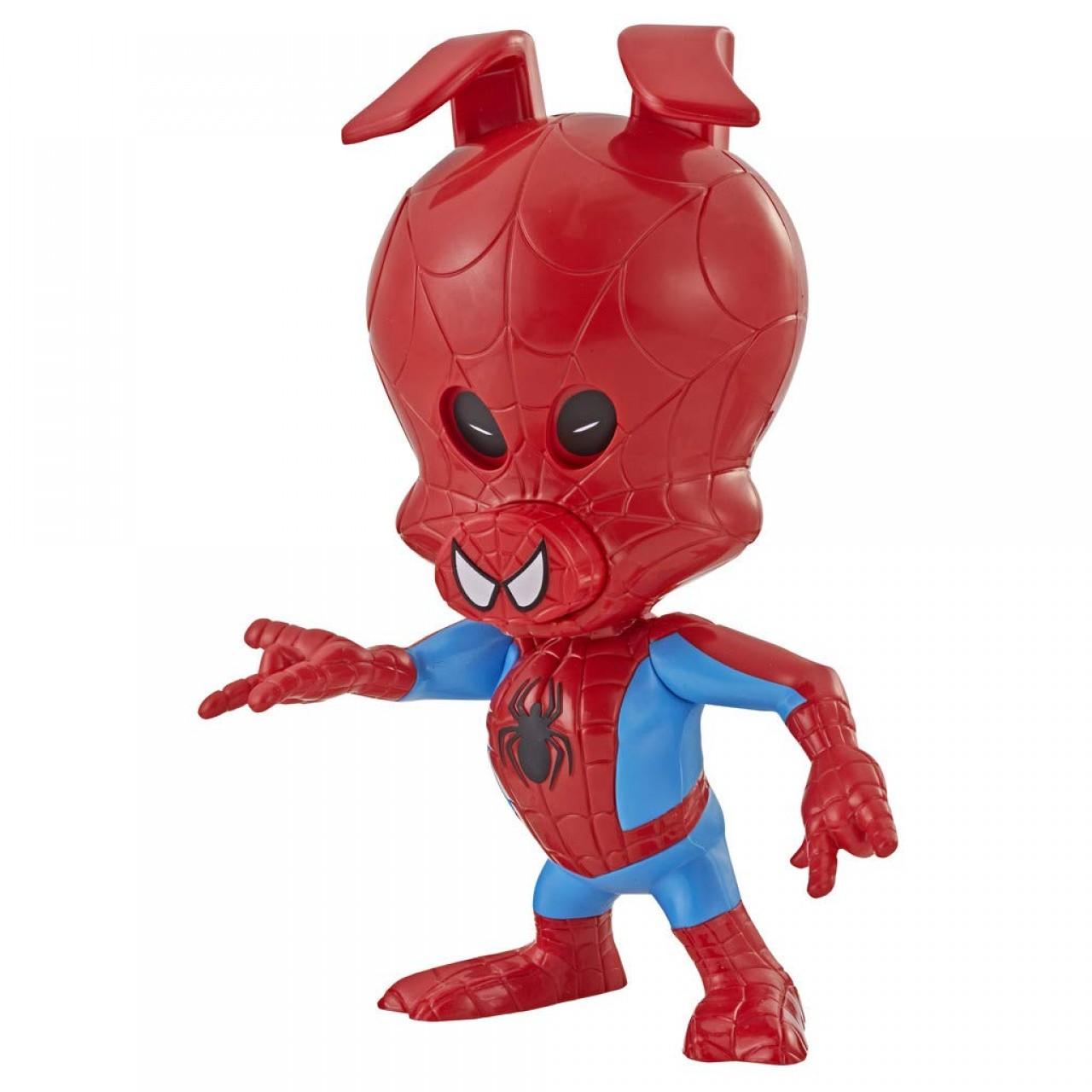 Интерактивная фигурка Свин-паука 21см E2845 от Hasbro (Spider-Ham Action Figures)