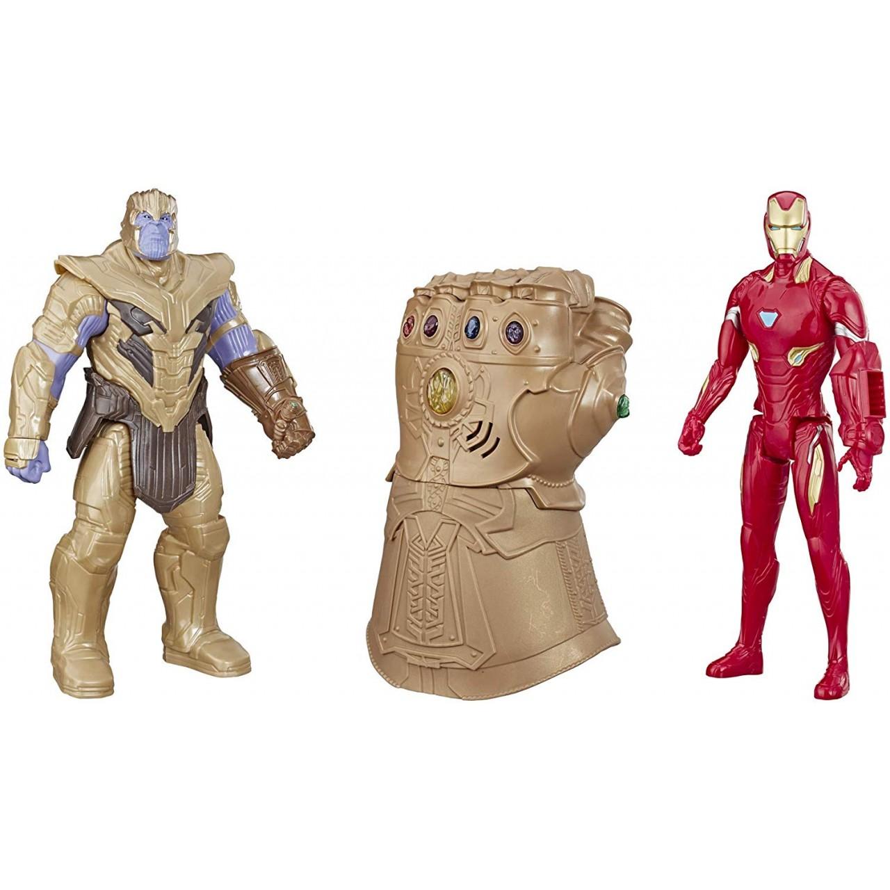 """Интерактивный набор: Танос, Железный Человек и Рука-Перчатка Бесконечности """"Мстители: Завершение"""" от Hasbro"""