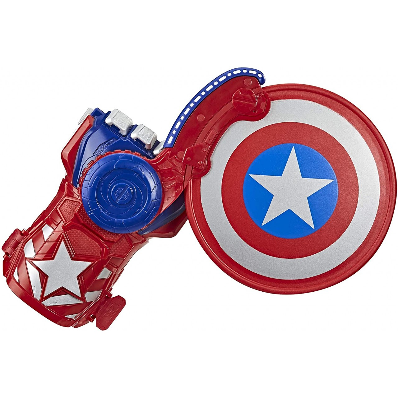 "Бластер-перчатка Капитан Америка ""Мстители: Завершение"" E7375 Nerf от Hasbro"