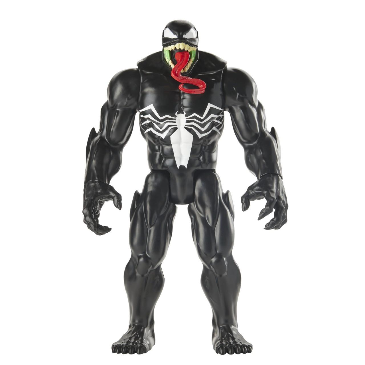 Фигурка Веном увеличенный E8684 серия Titan Hero Power FX Port Maximum Venom
