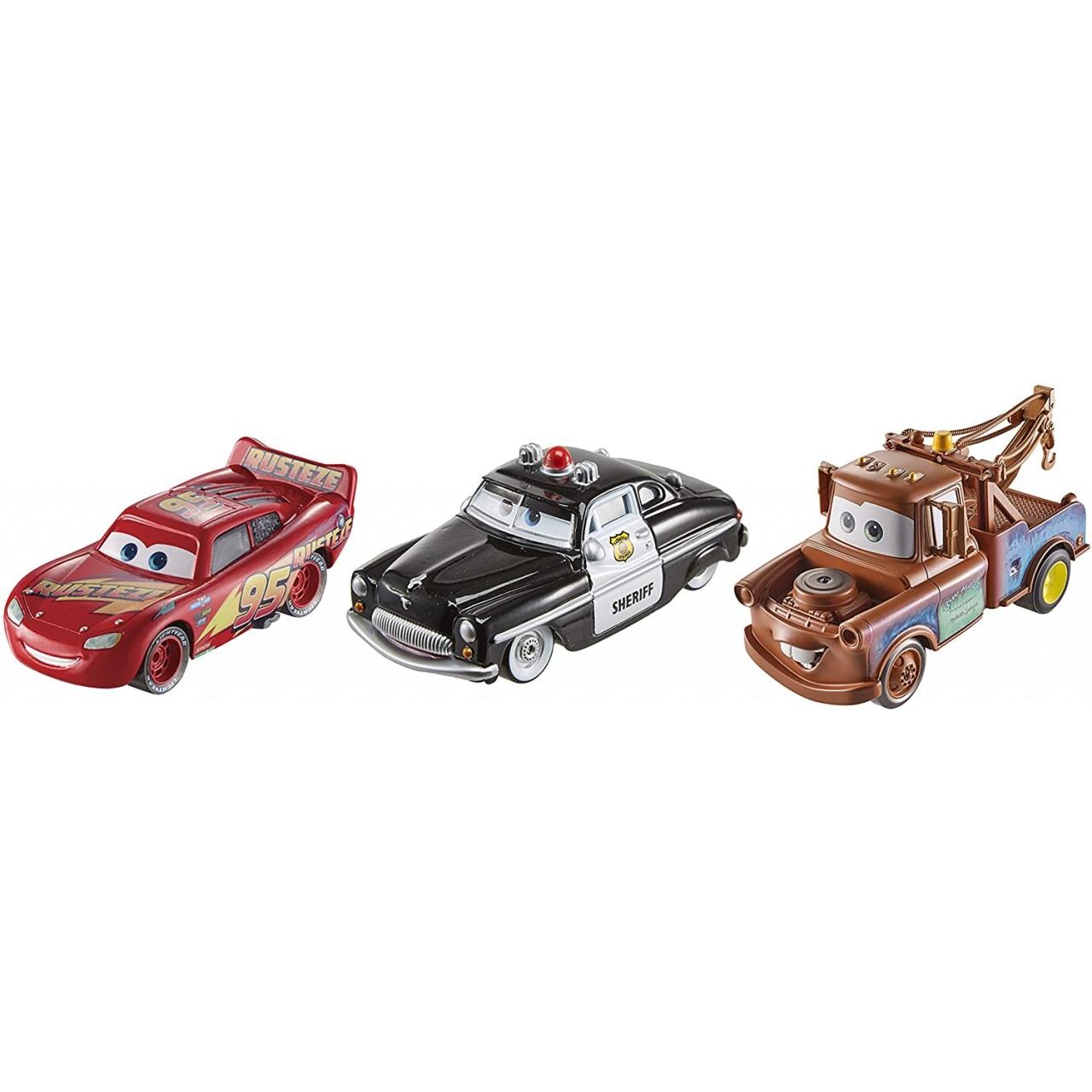 Ігровий набір трьох героїв з мультфільму Тачки 3 Mattel Disney Pixar (FXH57)