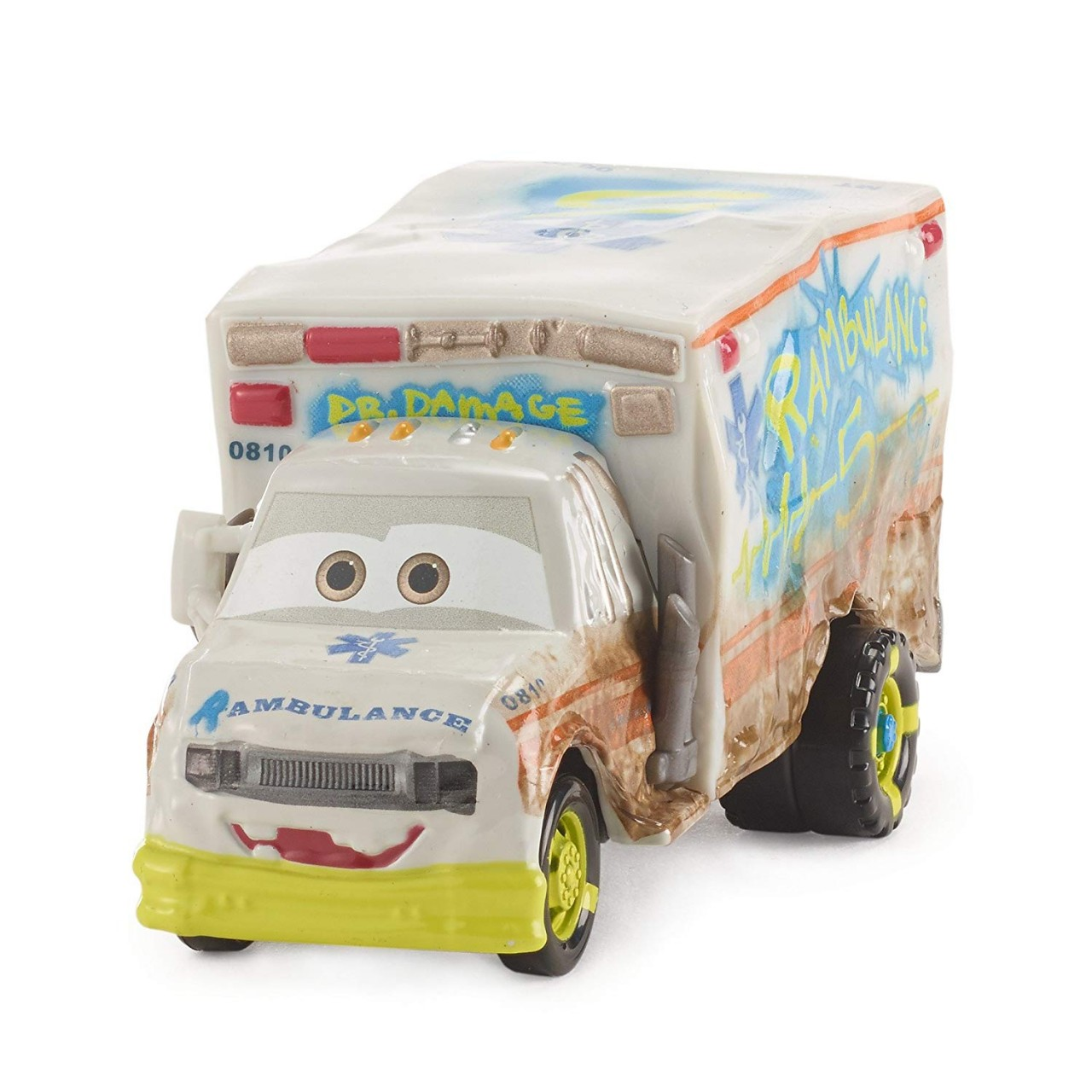 Disney/Pixar Тачки 3 Deluxe: Доктор Разрушитель DXV93 (Cars 3 Deluxe Dr. Damage Vehicle)