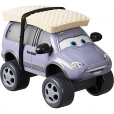 Disney / Pixar Тачки 3 Deluxe: Лерой Трафик (Cars 3 Deluxe Leroy Traffik with Snow Car)