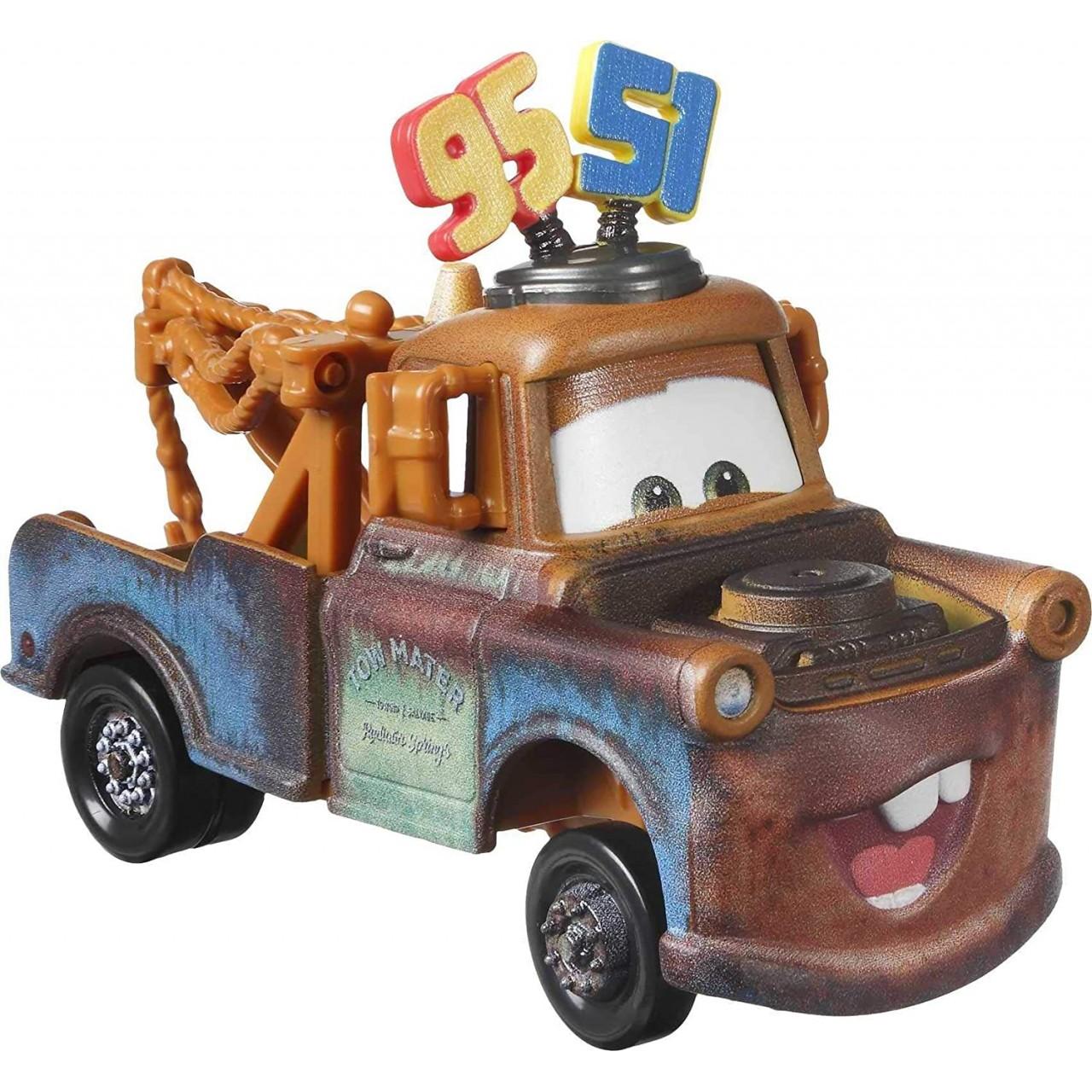Disney / Pixar Тачки 3 Deluxe: Метр колекція 95/51 (Disney Pixar Cars Deluxe Red GRP94) від Mattel