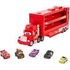"""Набір Disney / Pixar Тачки 3 """"Мак-трейлер і міні гонщики"""" (GWN55) Mattel Disney Pixar"""