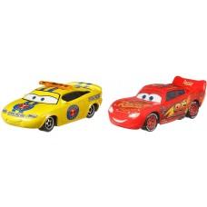 Disney/Pixar Тачки 3: Чарли Чекер и  Молния Мак Куин GKB73 (Cars 3 Charlie Checker and Lightning McQueen) от Mattel