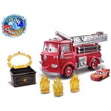"""Набор Тачки 3: Молния Маккуин и Пожарная машина Ред """"Огненная ловушка: меняй цвет"""" GPH80 Mattel"""
