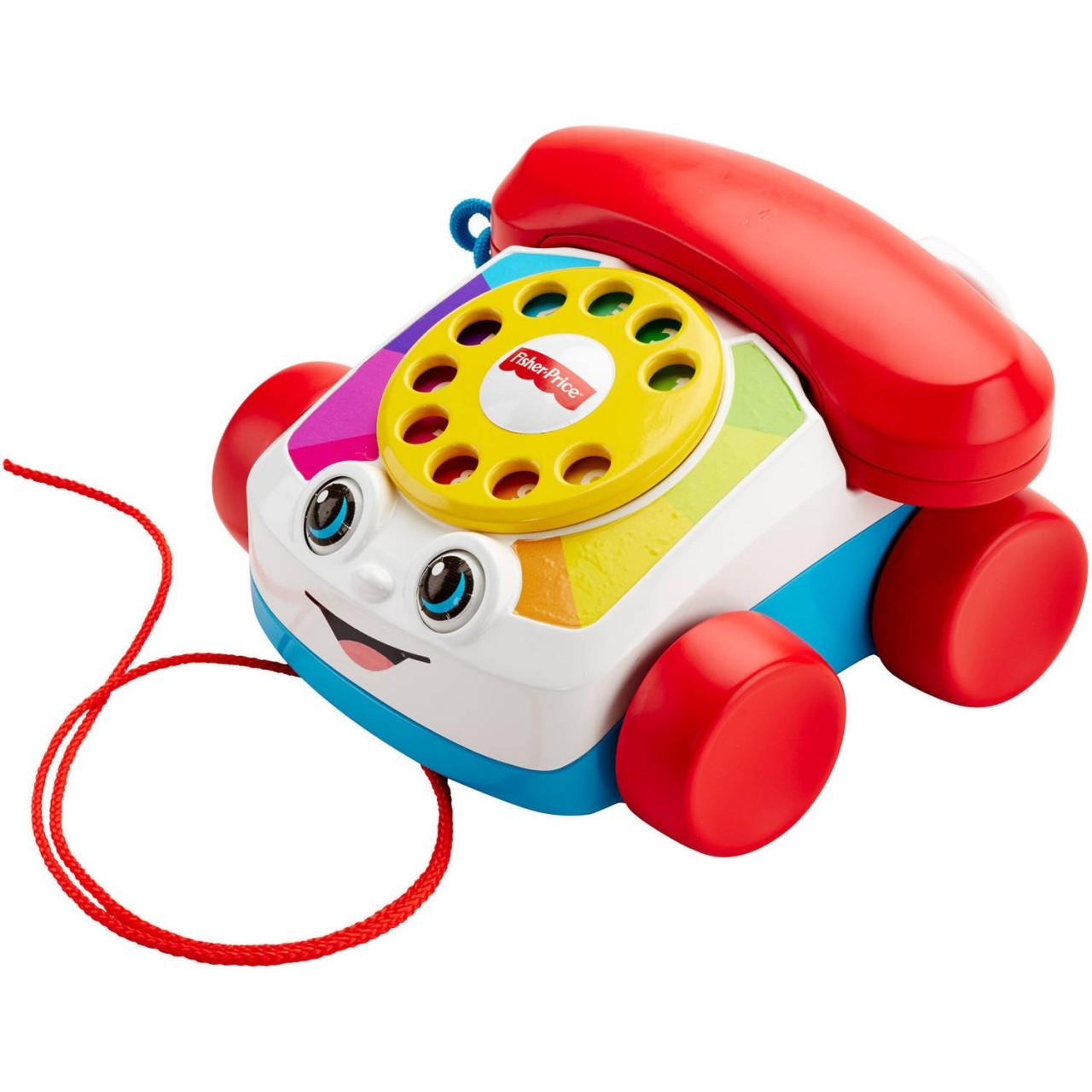 """Игрушка-каталка от Fisher Pricе """"Веселый телефон"""""""