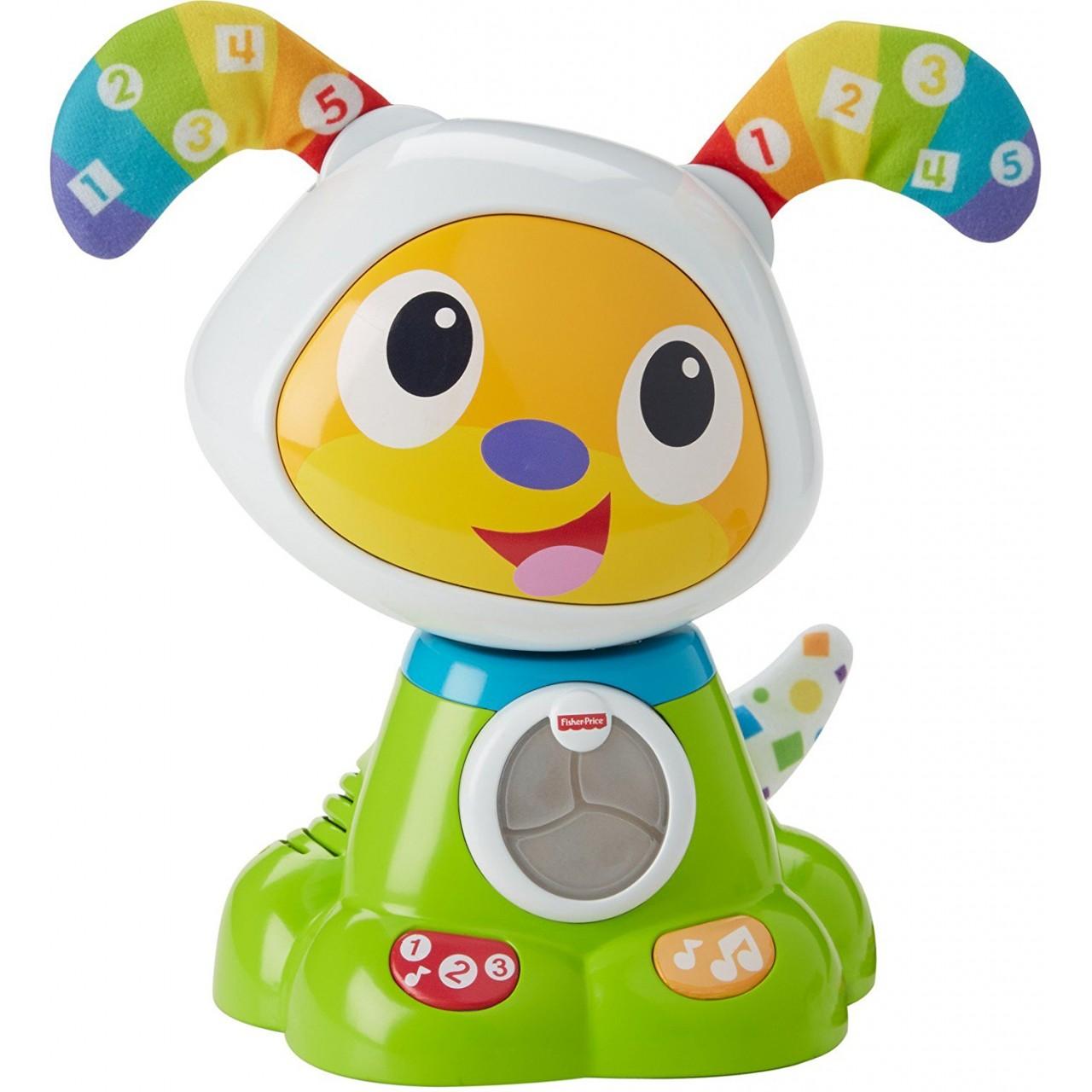 Интерактивная игрушка Танцующий щенок робот БиБо Fisher-Price
