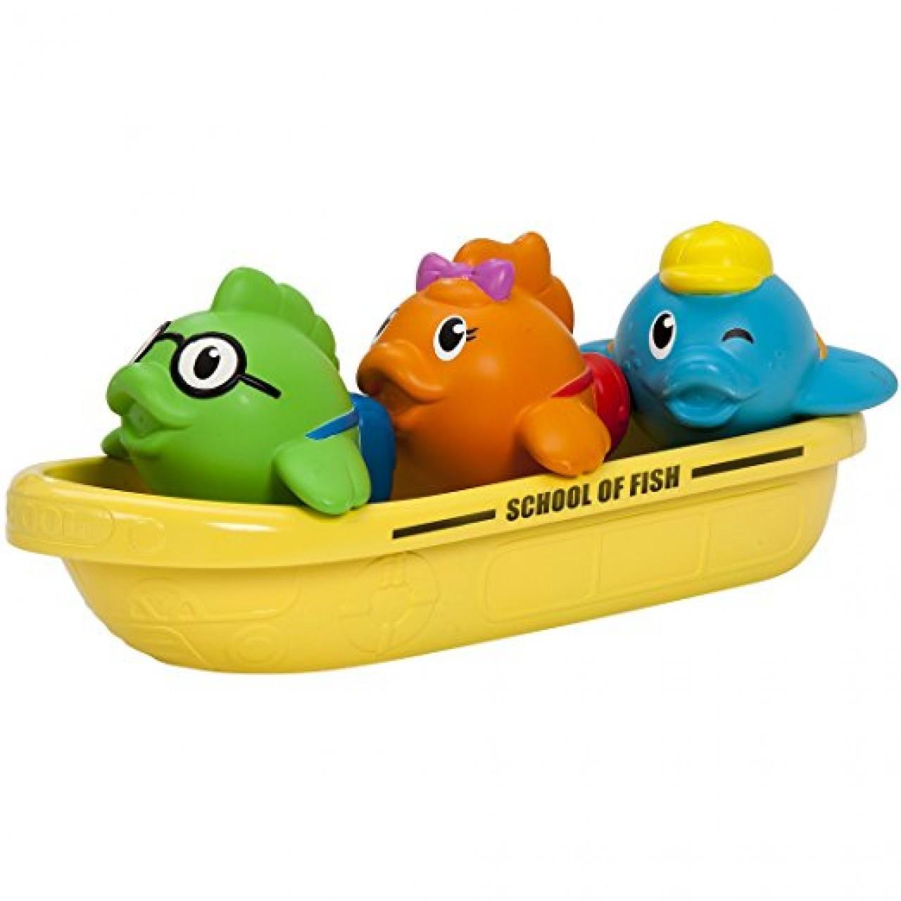 """Игрушка для ванной """"Школа рыболовов"""" от Munchkin"""