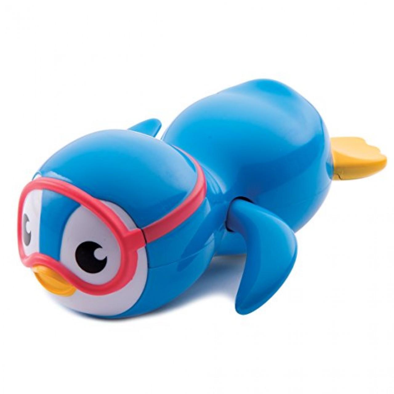 Игрушка для ванной от Munchkin - Пингвин пловец (голубой)